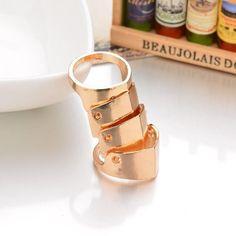 Full Finger Armor Ring