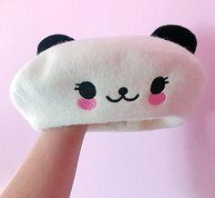 Kawaii Panda Bear Beret With Ears - Beret Hat Kawaii Fashion, Lolita Fashion, Cute Fashion, Kids Fashion, Fashion Women, Outfits With Hats, Cute Outfits, Kawaii Room, Kawaii Accessories