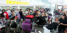 Volcano closes airports, Thousands stranded in Indonesia  Read more click image