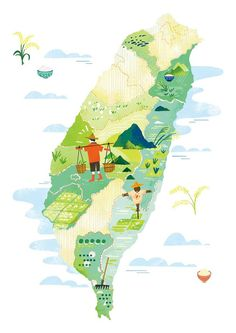 Pin by elizabeth nagle on design ideas in 2019 карты города, Travel Illustration, Flat Illustration, Taiwan Image, Village Map, Train Map, Alone Photography, Campus Map, Sports Graphic Design, Map Design