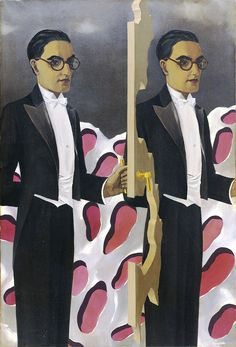 René Magritte - Portrait of Paul Nougé, 1927
