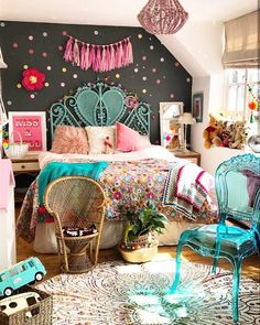 Teen Girl Bedrooms awesome and dreamy vibe - Super ingenious teen room suggestions. This wicked post reference inspired on 20191221 Big Girl Bedrooms, Shabby Chic Bedrooms, Little Girl Rooms, Girls Bedroom, Bedroom Decor, Design Bedroom, Bedroom Ideas, Girl Nursery, Fashion Room