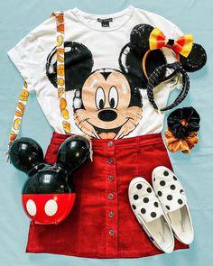 Cute Disney Outfits, Disney World Outfits, Disney Themed Outfits, Disneyland Outfits, Cute Summer Outfits, Theme Park Outfits, Disney Day, Disney Trips, Walt Disney