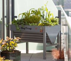 VegTrug Aluminium Planter - GardenSite.co.uk