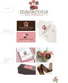 Macarons and Morsels logo by hcpeace
