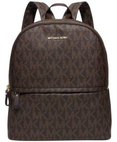 MICHAEL Michael Kors Signature Large Backpack, a Macy's Exclusive Style