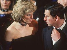 A l'opéra de Munich, le 4 novembre 1987, les relations entre Diana et Charles semblent peu amènes. (Obertreis/DPA/MAXPPP)