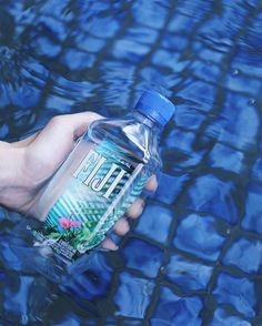 There's nothing more refreshing and cooling than a bottle of FIJI water on a hot, humid day. Mineral Water, Fiji Water Bottle, Drinking Water, Wellness, Science, Earth, Natural, Hot, Nature