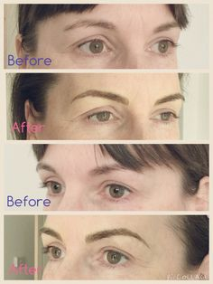 Face changing brows #semipermanenteyebrows #eyebrowtattoo #semipermanentmakeupbyniaome #microblading