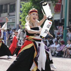 2014年湘南よさこい祭りを見てきました Yosakoi