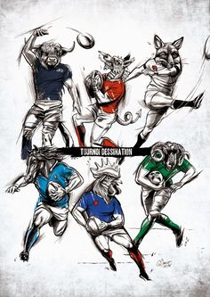 #rugby #tournament Rugby Sport, Rugby Club, Rugby Men, Super Rugby, Tournois Des 6 Nations, Cardiff, Rugby Wallpaper, Rugby Poster, Sports Painting