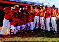 The Taos High baseball team celebrates after winning the Aztec Tournament, Saturday (March 22). @ Taos, NM