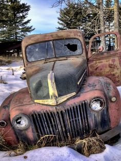 Abandoned old Truck Rusting away. Source Plus.google.com
