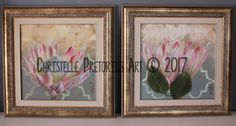 Artist: Christelle Pretorius. Beautiful composition of South African Proteas. Oil on Canvas. Subjected to copyright. For more information contact Christelle christelledv@live.com Oil On Canvas, Composition, Gallery Wall, My Arts, African, Live, Frame, Artist, Beautiful