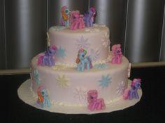 My Little Pony Birthday Cake   Max & Ruby Fondant Cake
