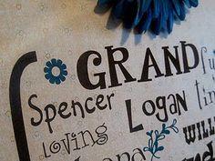 fun grandparent gift