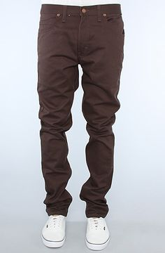 34819fc78f7 Dickies The Skinny 5 Pocket Pants in Dark Brown   Karmaloop.com - Global  Concrete Culture