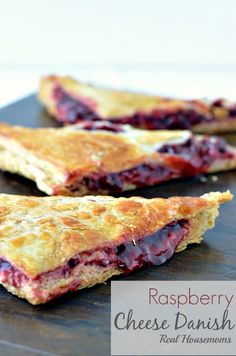 Raspberry Cheese Danish | Real Housemoms | #danish #breakfast #dessert
