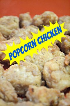 Popcorn Chicken Kids Style : popcorn chicken. Throw away those frozen dino nuggets, your family ...