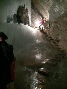 Eisriesenwelt Seilbahnstation jégbarlang