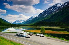 Alaska is a destination all RVers should travel to at least once. Here& your guide to RVing to and in the state of Alaska. Seward Alaska, Anchorage Alaska, Alaska Travel, Alaska Cruise, Alaska Trip, Rv Travel, Family Travel, Destinations, Rv Life