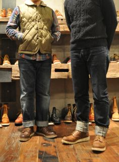 Red Wing Shoes Korea Daily Coordination Rough & Tough  #1907,#9111