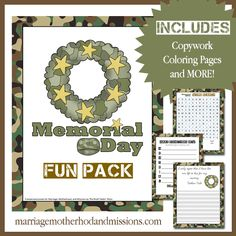 Memorial Day Fun Pack with Freebies and Deals Link Up - Marriage Motherhood and Missions