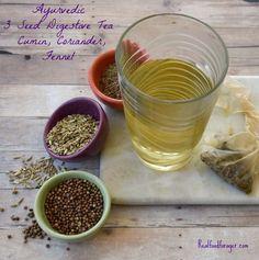 Ayurvedic 3 Seed Digestive Tea – Cumin, Coriander, Fennel post image