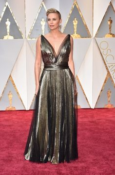 Charlize Theron in Dior 19 Best Dressed Celebrities at the 2017 Oscars – Best and Worst Oscars Dresses