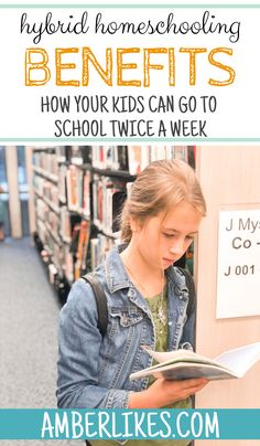 What is hybrid homeschooling? And why is it awesome? Find out now from a veteran homeschooling mom of Kids Going To School, Curriculum Planning, Things To Do At Home, Drama Free, How To Start Homeschooling, School Schedule, Homeschool High School, It's Amazing, Awesome