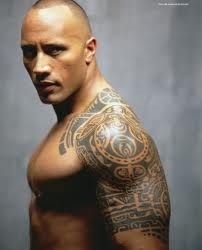 The Rock!  I would like to wrestle with him for awhile :)