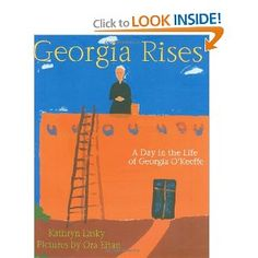 study of georgia o'keefe: different classes read different books and present aspects of georgia's life