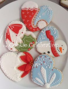 Image result for love icing cookies
