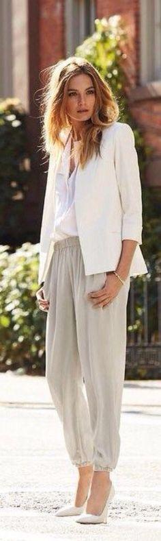 structured white & soft silk