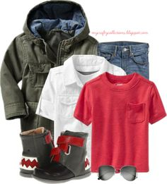 Toddler Boy's Outfit: Hungry Boots - Featuring items from Old Navy, H&M, and 6PM