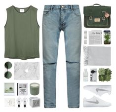"""""""dedicated to mae <3"""" by via-m ❤ liked on Polyvore featuring Yves Saint Laurent, Dr. Martens, Jayson Home, LAFCO, Surya, Patagonia, LEXON, NIKE, Polaroid and Alöe"""