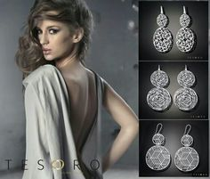 The energy of Tesoro's 925 silver collection is confirmed by it's ultra modern contemporary focus. Unusual and intriguing, this collection draws its inspiration from vintage ideals, revisited with an innovative interpretation. Www.tesorojewellery.com.au