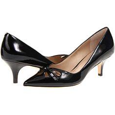 I love these. I am a sucker for a kitten heel. Joan & David Gardner