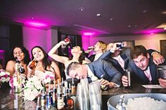 Funny picture idea to take with the wedding party!!   #Wedding #funnyphoto #bride #weddingpicture #weddingParty
