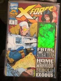 Three Copies of X-Force #1: 2-1st printings, 1 Gold #1 + #'s 2,4,5,6,8,10,12,13,14,15,20,22 Hologram http://graphic-illusion.com