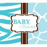 These foldover-style invitations are designed to match the Wild Safari Blue baby shower theme. Easy fill-in cards come in quantities of 8 with envelopes. Baby Shower Party Supplies, Baby Shower Parties, Baby Boy Shower, Baby Showers, Printable Baby Shower Invitations, Party Invitations, Invites, Shower Ideas, Envelopes