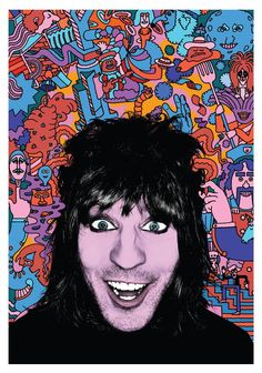 A magical mix of Noel's unique brand of standup comedy, live animation, music and some of Fielding's best-known TV characters (such as The Moon and Fantasy Man). Noel Fielding's Luxury Comedy, Live Comedy, Up Animation, The Mighty Boosh, Primitive Painting, Howl At The Moon, Movies To Watch Online, Watch Movies, Tour Posters
