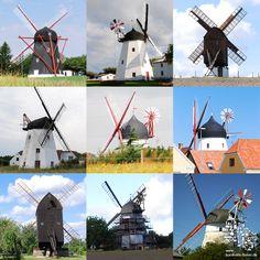 Bornholms Mühlen #Bornholm #Mühlen #Windmühle #Dänemark