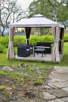 hotel mama: Kevät herättää bloginkin eloon Gazebo, Outdoor Structures, Lifestyle, Kiosk, Pavilion, Cabana
