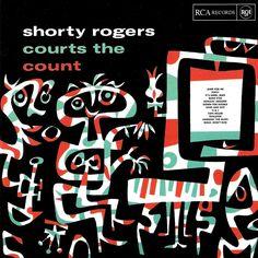 Jim Flora jazz album cover