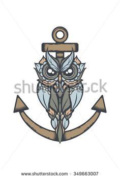 negative positive owl tattoo - Buscar con Google                                                                                                                                                                                 More