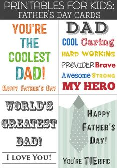 e cards free fathers day