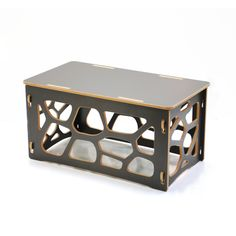 The nomad coffee table assembles in minutes with no tools and no hardware. Modular Furniture, Small Furniture, Plywood Furniture, Furniture Plans, Diy Furniture, Furniture Design, Furniture Movers, Cnc Table, Plywood Table