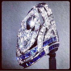 Stella ring Van Cleef & Arpels    inspired by Frank Stella