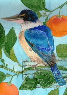 """Kingfisher and Citrus"" by Gabby Malpas 